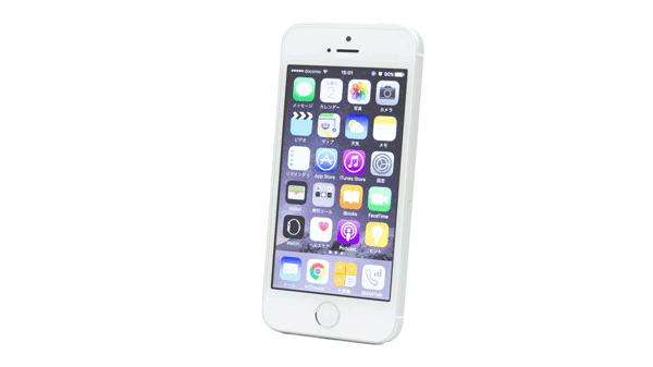 4インチの「iPhone SE」(SIMフリーモデル)