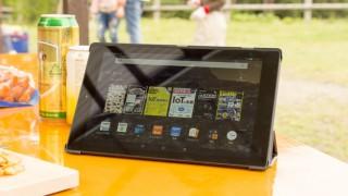 キャンプには10.1型タブレットが便利! アマゾンFire HD 10をアウトドアで試す