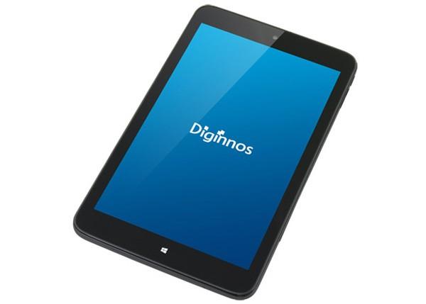 前モデルの「Diginnos DG-D08IWB 32GB」。すでに売り切れました