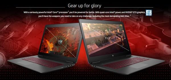 15.6型と17.3型の2モデルが用意された「OMEN Laptop」