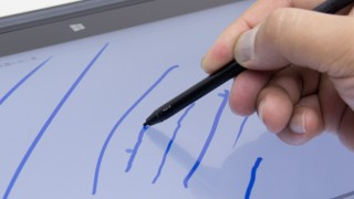 ThinkPad X1 Yoga実機レビュー(ペン入力編) 筆圧感知2048段階でスラスラ書けるけど気になる部分も……