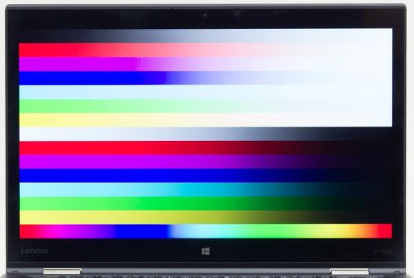 発色に優れるIPSパネルを採用していることもあり、鮮やかで自然な色合いです