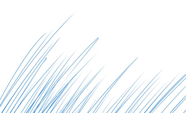 描いた線を拡大してみると、最後の細い部分まで精細に描かれていました