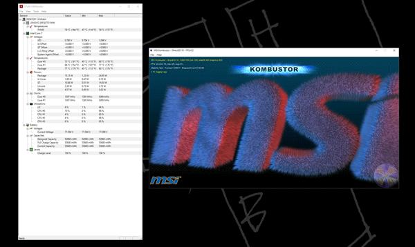 GPUに高い負荷をかけ続ける「msi Kombustor」