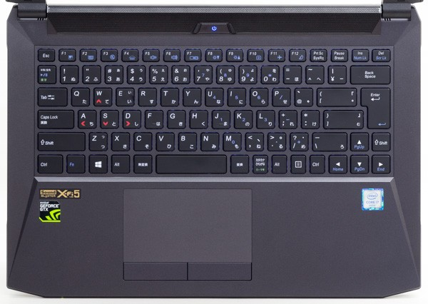 NEXTGEAR-NOTE i4600 シリーズのキーボード