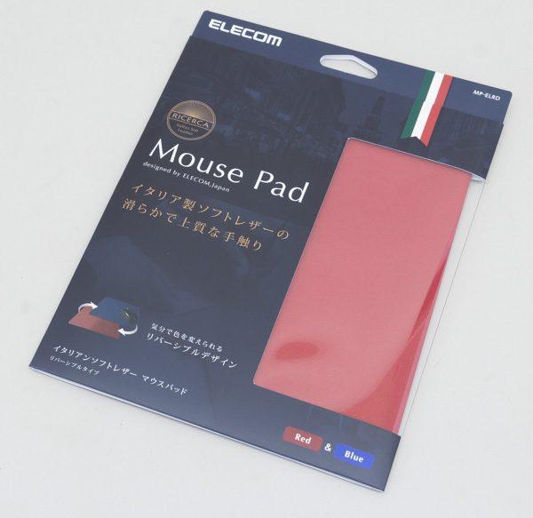 イタリアンソフトレザーを使用した高級マウスパッド