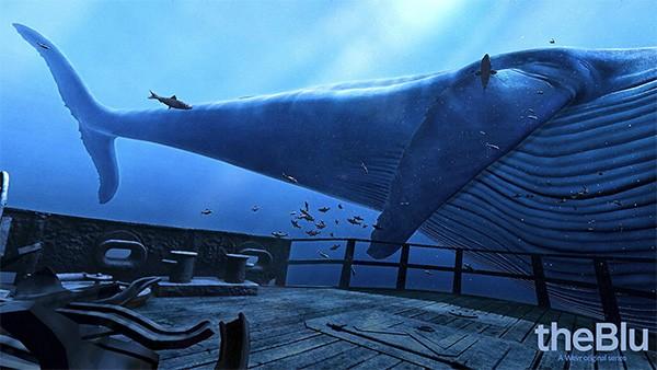 海中探索が可能な「theBlu」