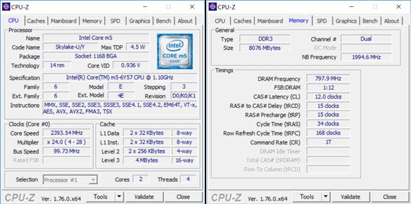 Core m5-6y75