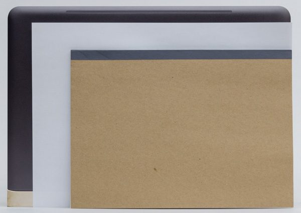フットプリント(設置面積)は幅325×奥行き229×