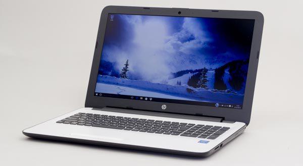 15.6型でフルHD液晶ディスプレイ搭載の「HP 15-ay000」