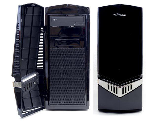 NEXTGEARシリーズではおなじみのミドルタワー型PCケースを採用