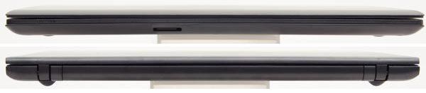 高さは22.9mmで、標準的な15.6型ノートパソコンよりもややスリムに感じました