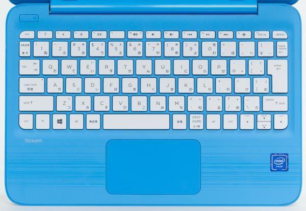 HP Stream 11-y000のキーボード