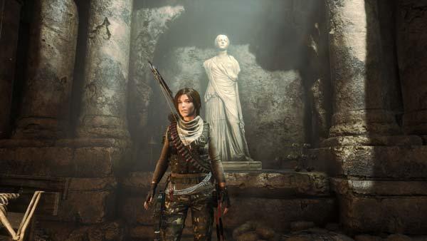 Rise of the Tomb Raider検証時のスクリーンショット