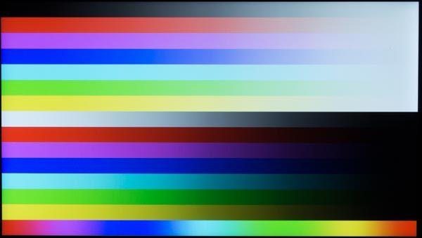 液晶ディスプレイの駆動方式はIPS。コントラストが高く、色にメリハリが感じられます