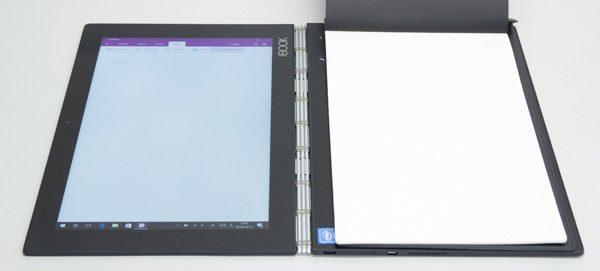 液晶ディスプレイを180度開いた状態を「クリエイトモード」と呼びます