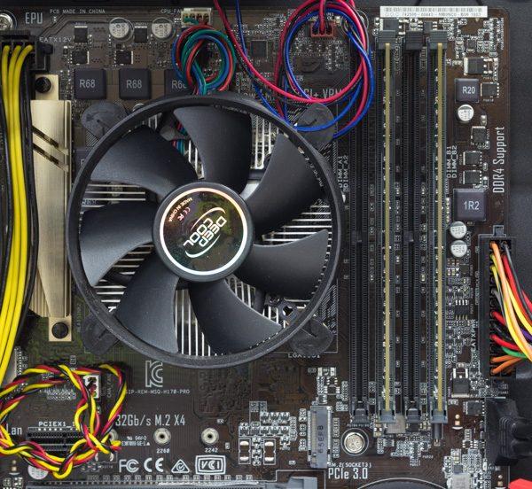 CPUの空冷ファン
