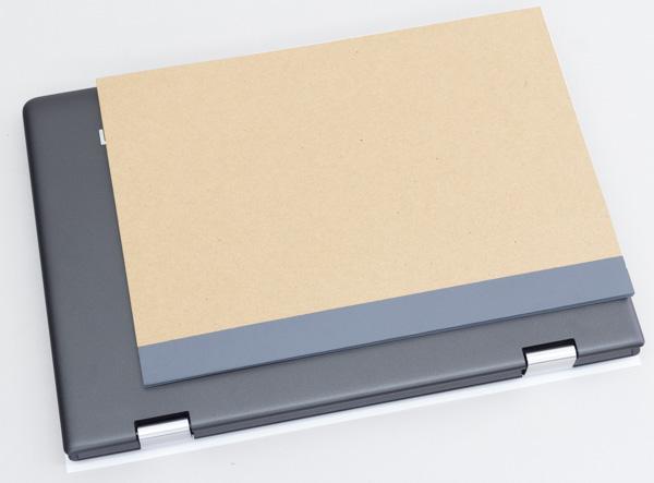 ideapad 310Sの大きさ比較