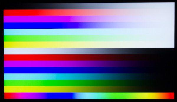 発色に優れるIPSパネルを使用しているので、映像が自然な色合いで映し出されます