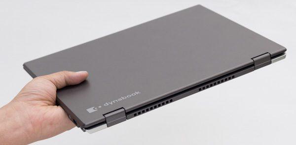 dynabook VZシリーズのサイズ感