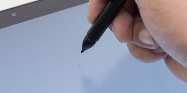 アクティブ静電ペンのホバリング