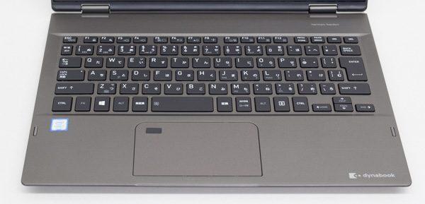 dynabook VZシリーズのキーボード