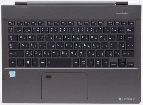 dynabook VZ72/Bのキーボード