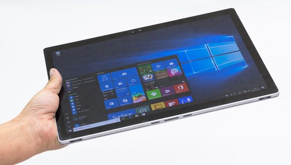 Surface Bookの重さ