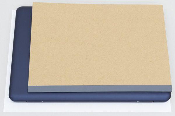 VivoBook E200HAのサイズ比較