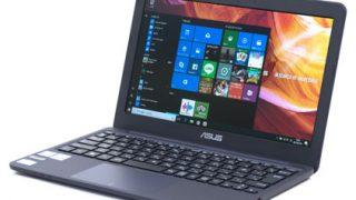 ASUS VivoBook E200HA自腹レビュー!税込み2万円台の軽量&低スペックノートPCを試す