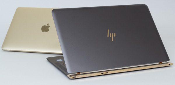 HP Spectre 13とMacBook