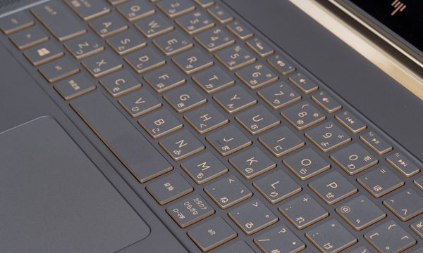 HP Spectre 13のキーボード