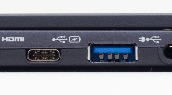 USB3.1 Type-CとUSB3.0