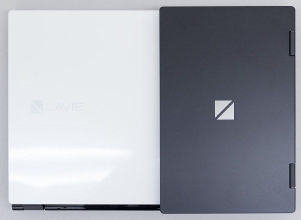 15.6型とのサイズ比較