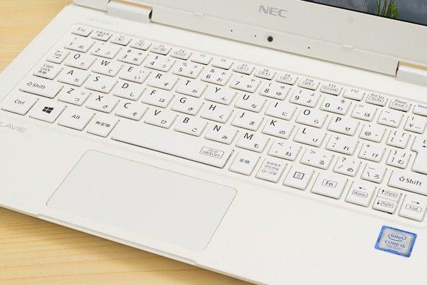 LAVIE Direct NMのキーボード