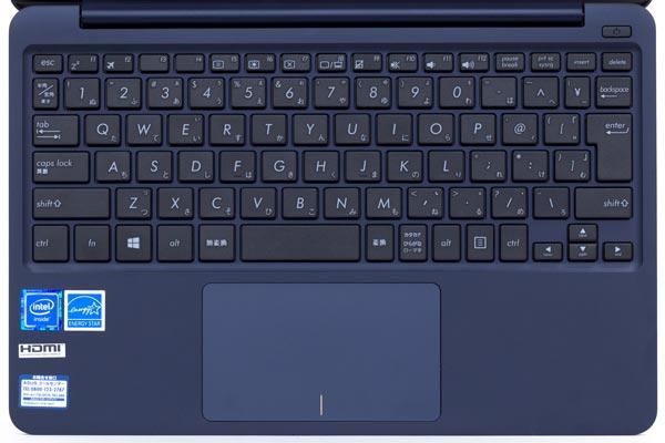 VivoBook E200HAのキーボード