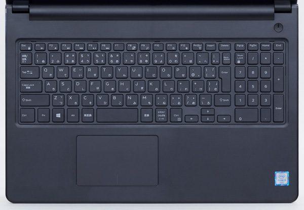 テンキー付きのキーボード