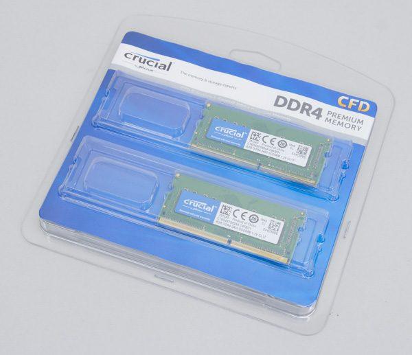 DDR-2400 8GB×2メモリー