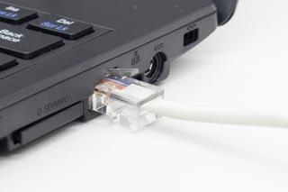 有線LAN端子
