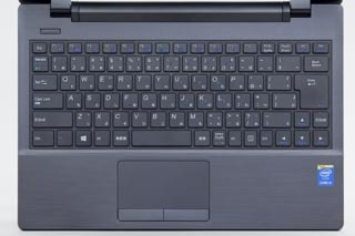LuvBook Jシリーズのキーボード