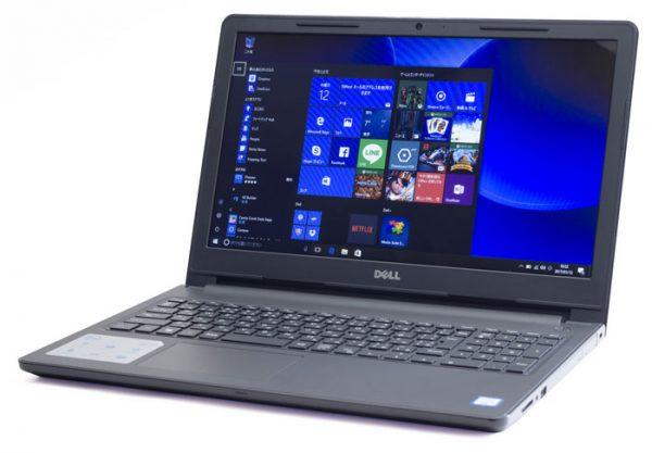 標準的な大きさのノートパソコン