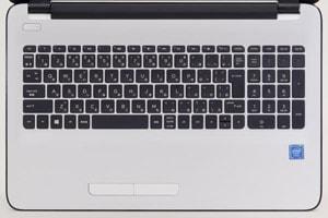 HP 15-ba000のキーボード