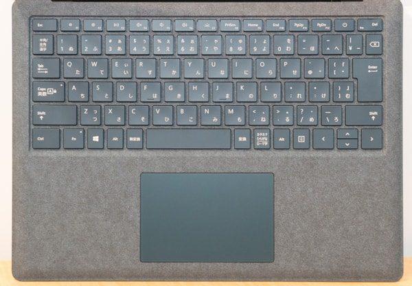 Surface Laptopのキーボード