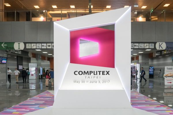COMPUTEX TAIPEI エントランス