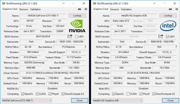 GPUの詳細情報
