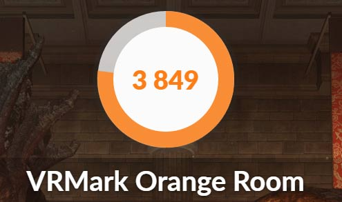 VRMark Orange Roomの結果