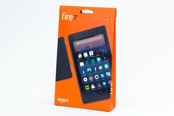 Fire 7のパッケージ