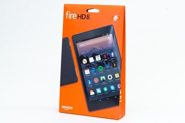Fire HD 8のパッケージ