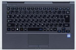 LAVIE Direct HZのキーボード