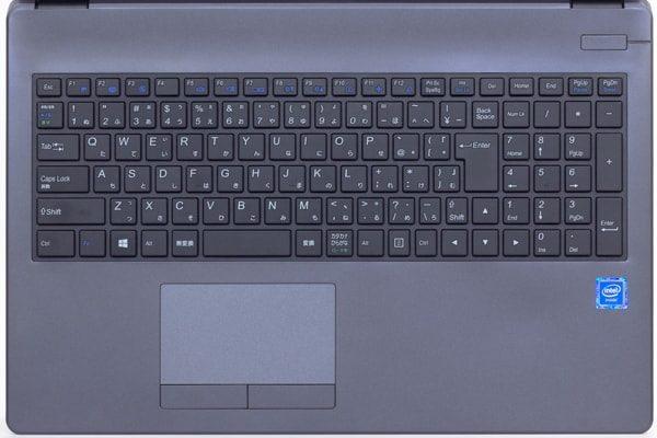 m-Book B503Eのキーボード
